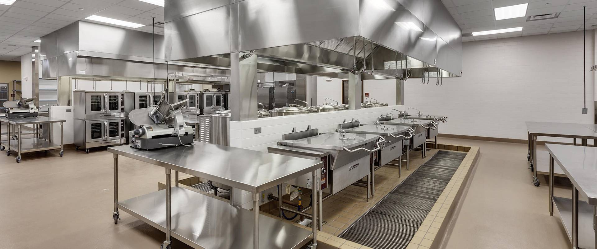 Commercial cleaning for kitchens.