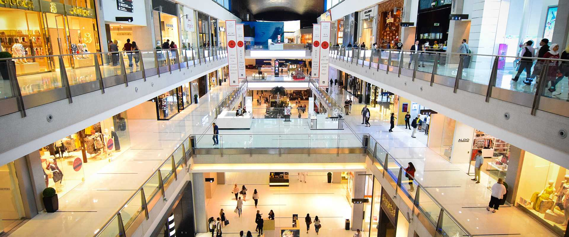 Commercial cleaning for retail outlets.