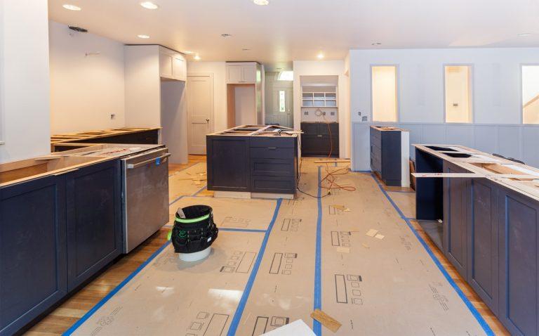 Home renovation planning.