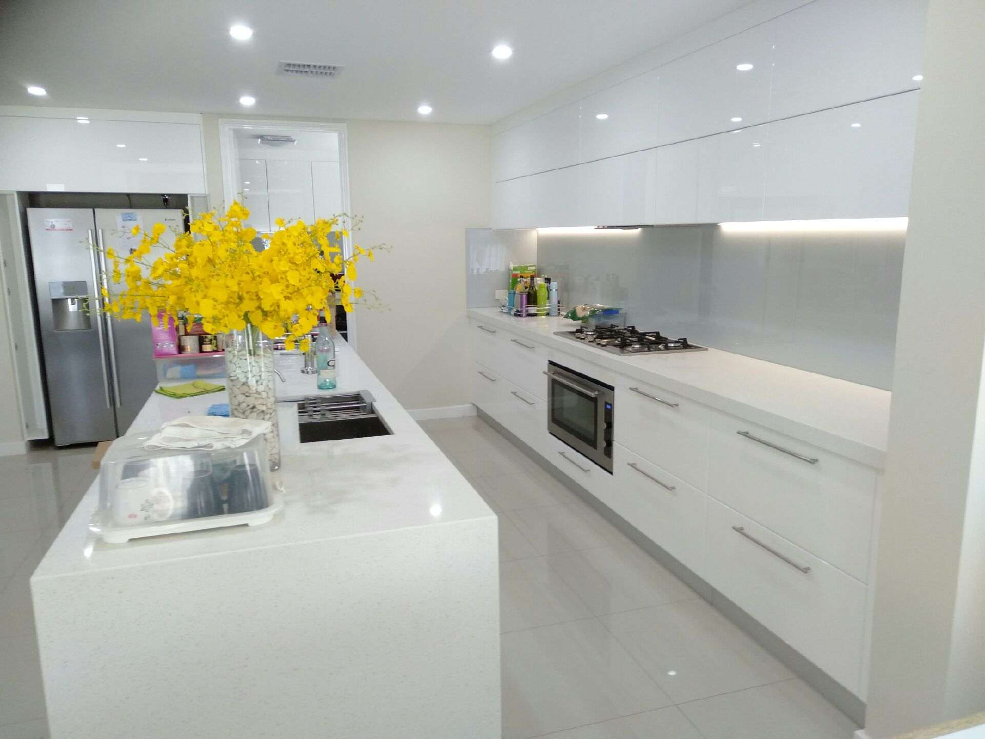 Completed kitchen renovation in Shelley.