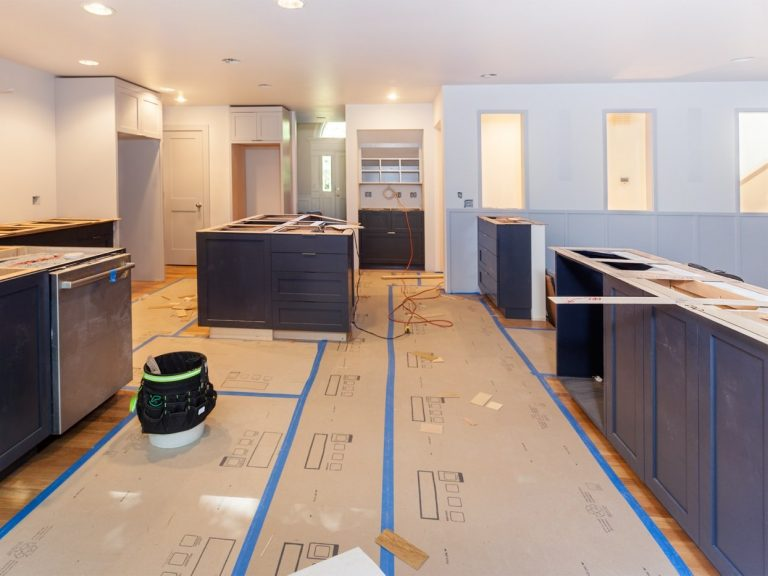 Home renovation plan.
