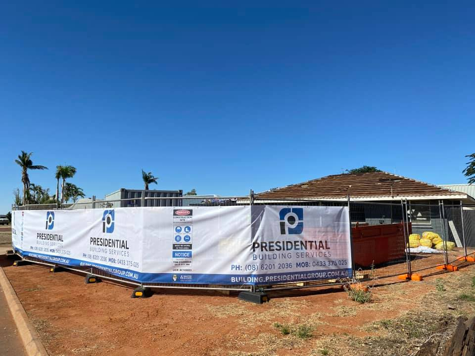 Re-roof in Karratha as a result of cyclone damage.