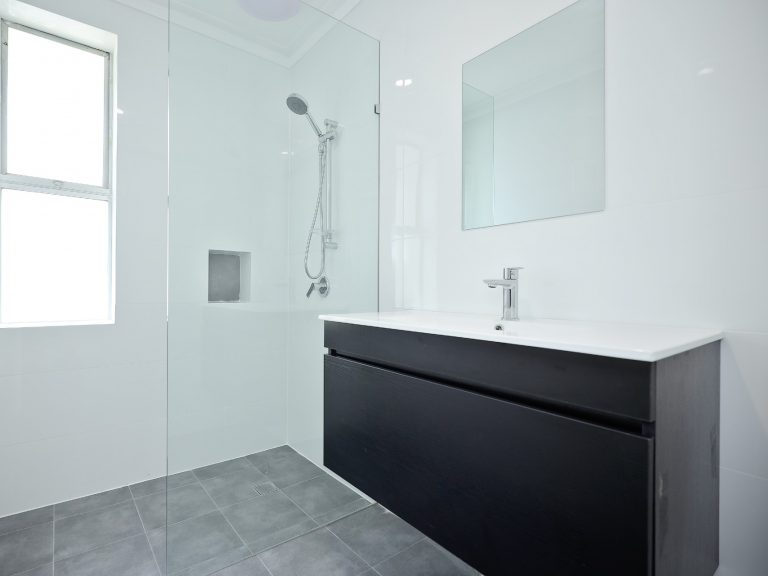Bathroom reno completed in Parmelia.