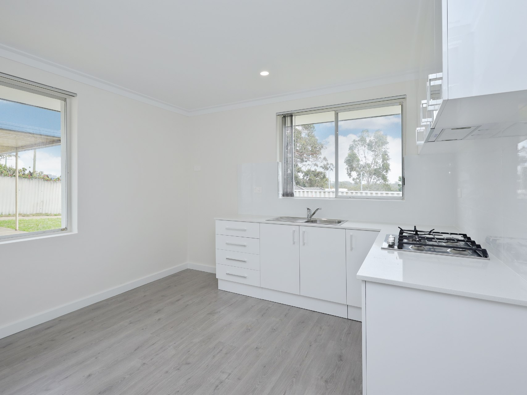 Kitchen renovation completed in Parmelia.