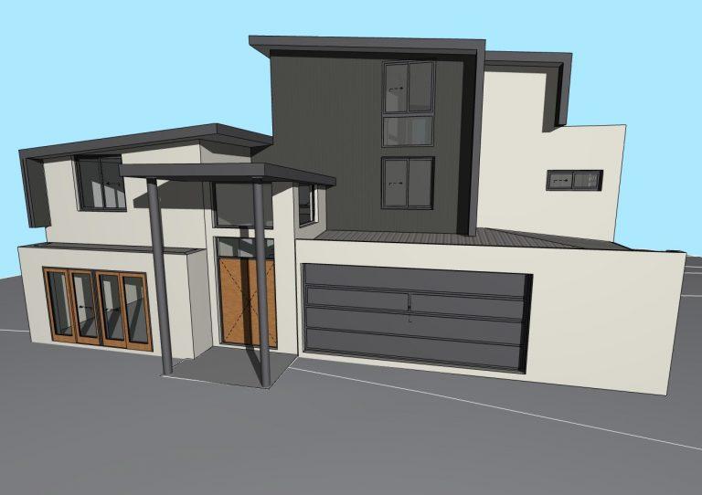 A 3D render for Ocean Reef home.