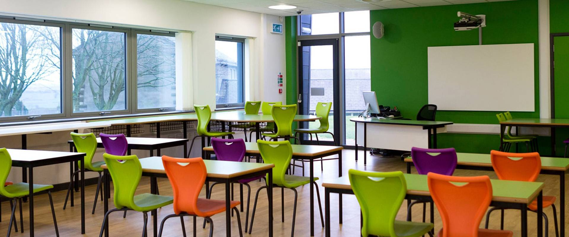 Commercial cleaning for education facilities.