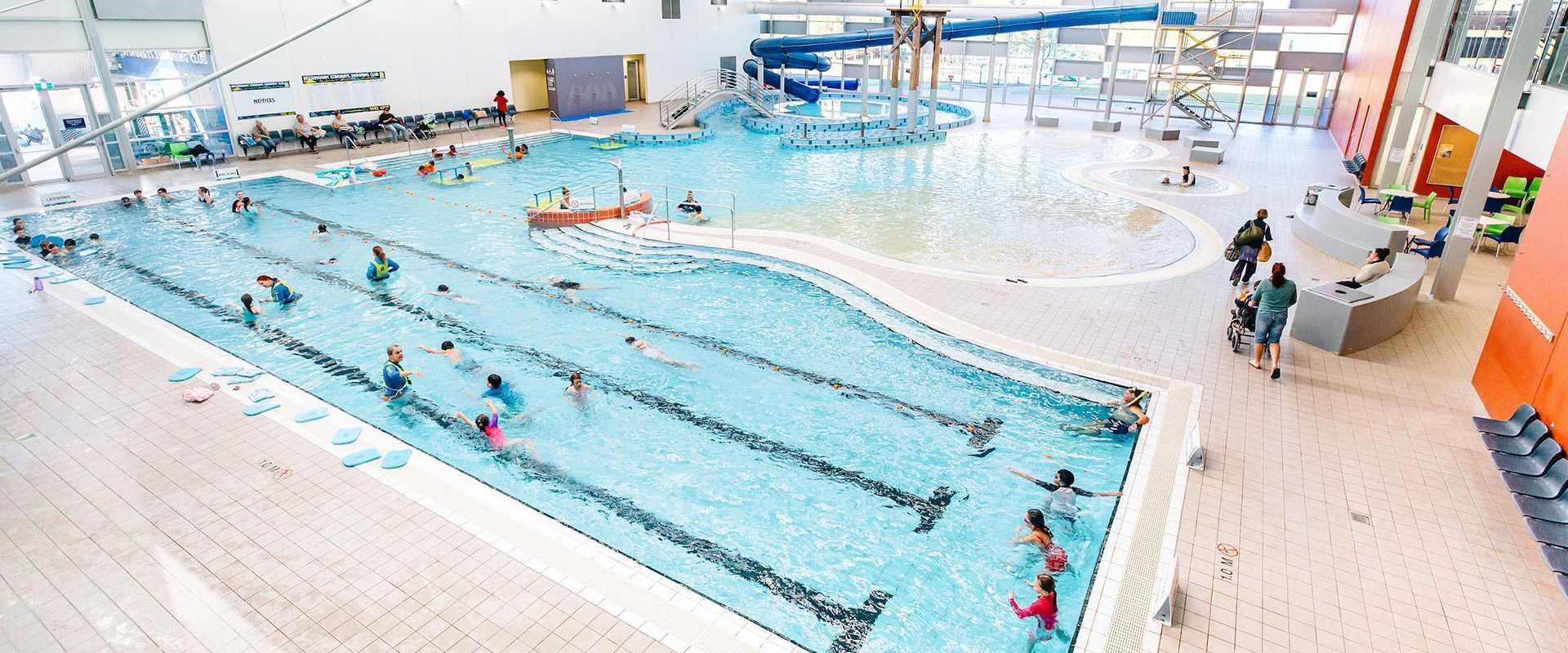 Commercial cleaning for leisure facilities.