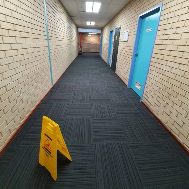 A completed medical centre clean.