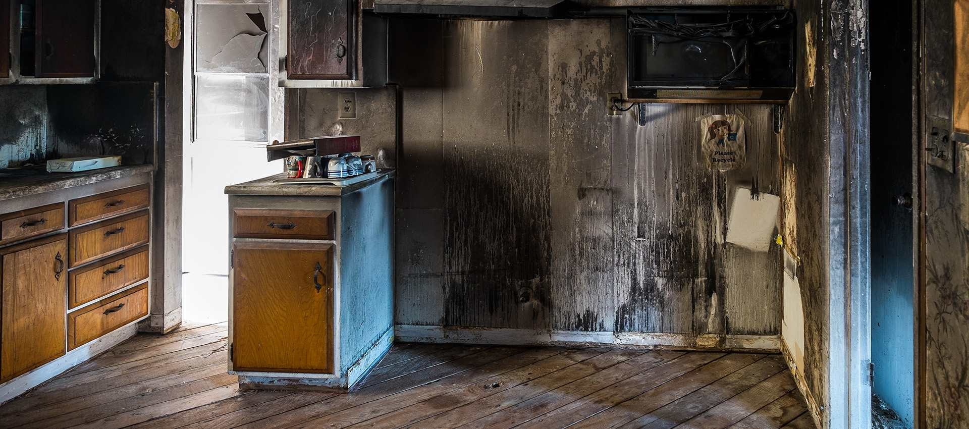 Smoke and fire restoration services.